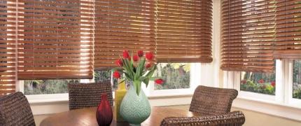 Persianas de madeira: elegância e funcionalidade